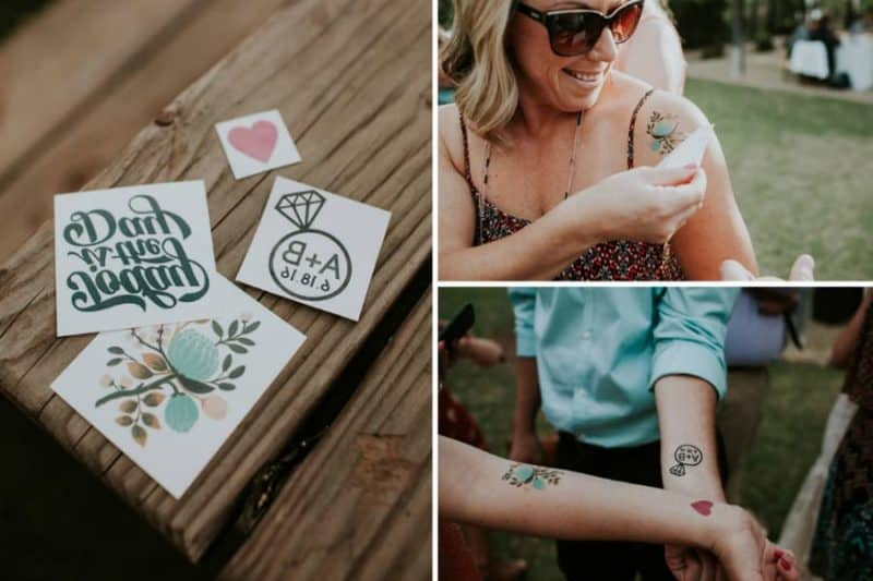 Kde sehnat svatební tetovačky