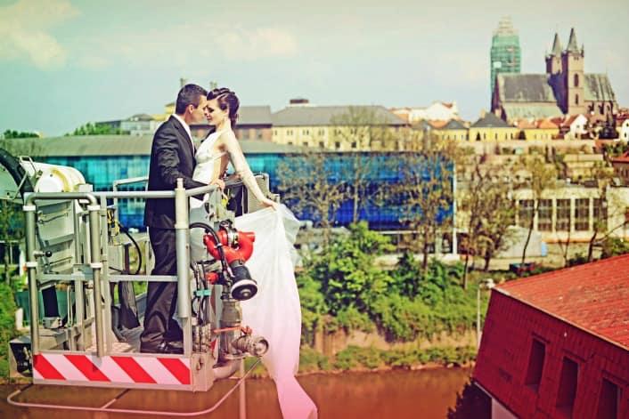 Svatba Kači a Marka