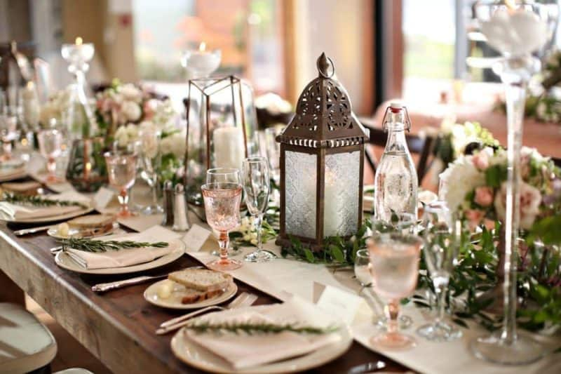 Jak vybírat stylové svatební dekorace