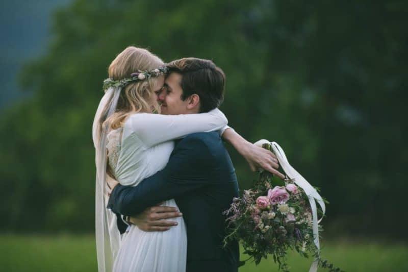 Skromná svatba v kostele: Veronika a Michael