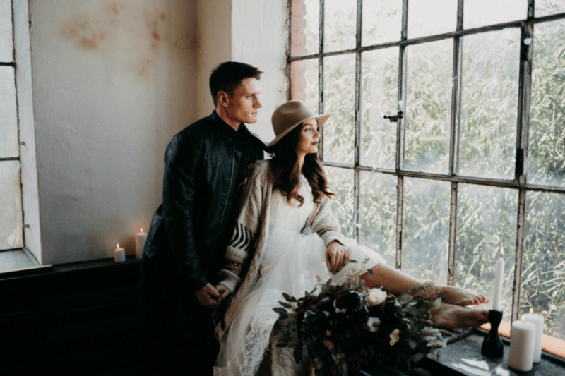 EDITORIAL: Nomádská boho svatba