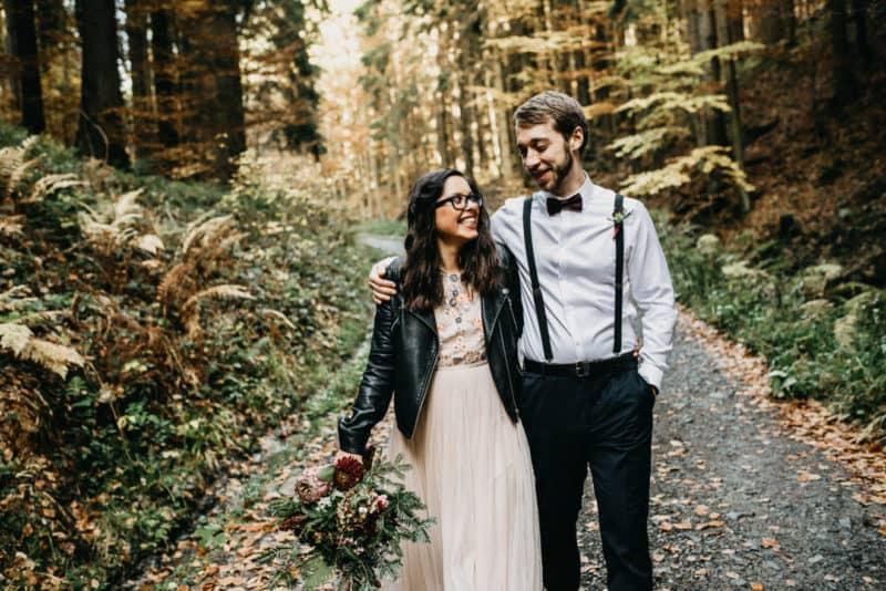 Tajná svatba v lese: Denisa a Honza