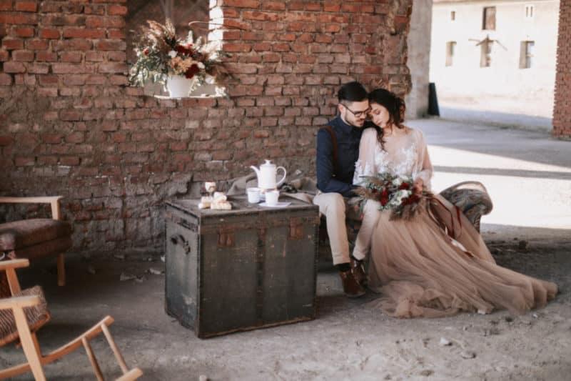 EDITORIAL: Marsala vibes – svatba v červené