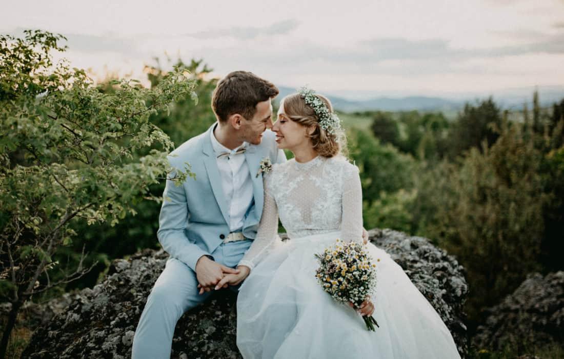 Svatba v kostele: Marienka a Andy
