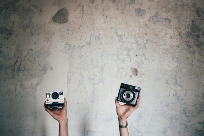 5 nápadů, jak využít zapůjčený Polaroid nebo Instax