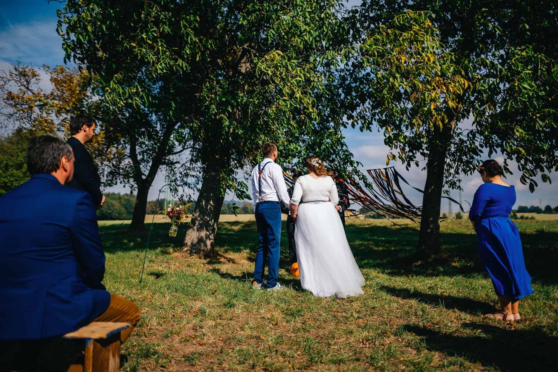 podzimní svatba v Českém ráji na statku Honza Martinec