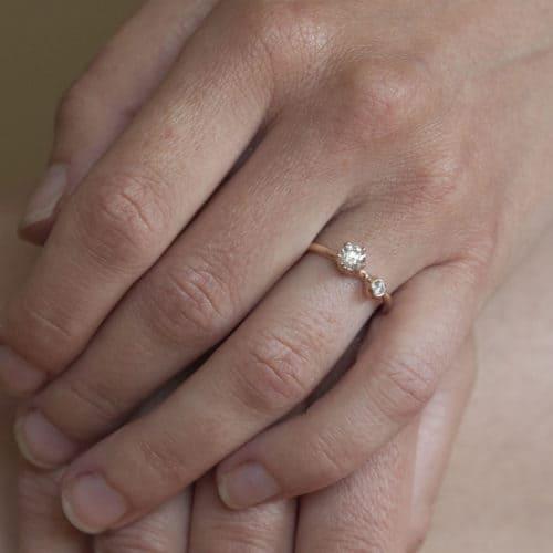 originální snubní prsten na zakázku elisa lens