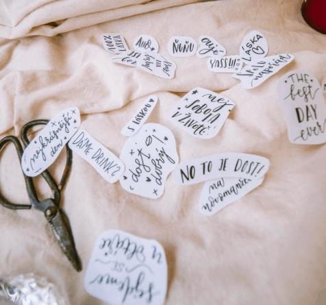 svatební tetovačky na míru