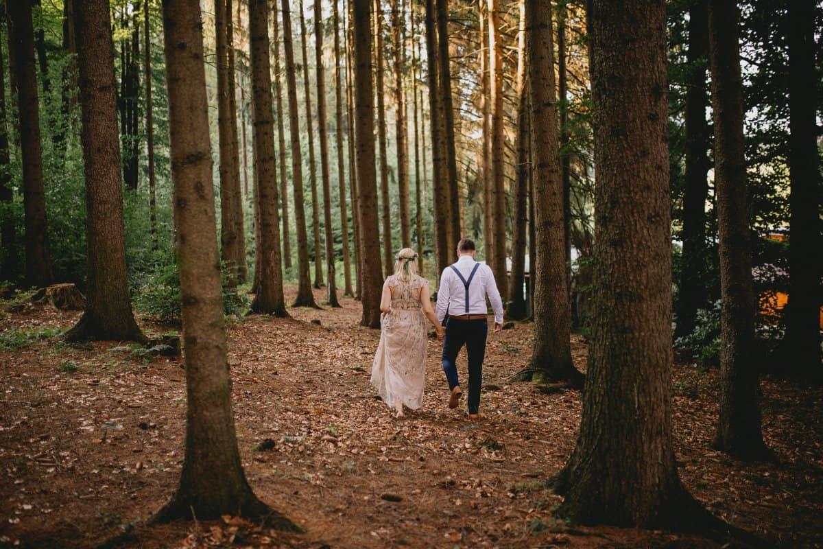 Svatba jen se svědky mikro svatba Alexandra Hrašková